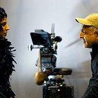 پشت صحنه فیلم سینمایی خوک با حضور مانی حقیقی و لیلا حاتمی