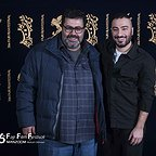عکس جشنواره ای فیلم سینمایی مغزهای کوچک زنگ زده با حضور فرهاد اصلانی و نوید محمدزاده