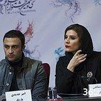 نشست خبری فیلم سینمایی عرق سرد با حضور امیر جدیدی و سحر دولتشاهی