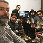 پشت صحنه فیلم سینمایی لاتاری با حضور سید محمود رضوی، محمدحسین مهدویان و سجاد پهلوانزاده