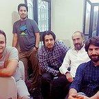 پشت صحنه فیلم سینمایی لاتاری با حضور هادی حجازیفر، محمدحسین مهدویان و ابراهیم امینی