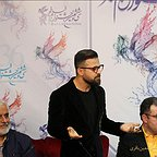 نشست خبری فیلم سینمایی مغزهای کوچک زنگ زده با حضور سعید سعدی، هومن سیدی و محمود گبرلو