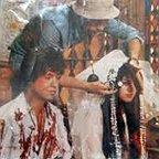 تصویری از فرزانه داوری، بازیگر سینما و تلویزیون در پشت صحنه یکی از آثارش