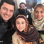پشت صحنه سریال تلویزیونی گسل با حضور سام درخشانی و ستاره حسینی