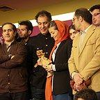 عکس جشنواره ای فیلم سینمایی لاک قرمز با حضور محمدرضا سکوت، بهنام تشکر و پردیس احمدیه
