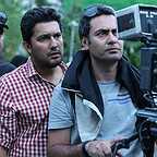 پشت صحنه فیلم سینمایی خانه دختر با حضور حامد بهداد و شهرام شاهحسینی