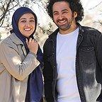پشت صحنه سریال تلویزیونی زیر همکف با حضور ویدا جوان و سیدهومن شاهی