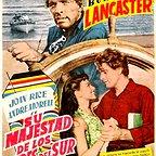 فیلم سینمایی His Majesty O'Keefe به کارگردانی Byron Haskin و Burt Lancaster