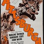 فیلم سینمایی Pittsburgh با حضور John Wayne، Randolph Scott و مارلنه دیتریش