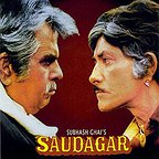 فیلم سینمایی Saudagar به کارگردانی Subhash Ghai