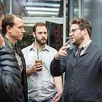 فیلم سینمایی مصاحبه با حضور Seth Rogen، Evan Goldberg و Brandon Trost