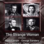 فیلم سینمایی The Strange Woman با حضور جرج سندرز، Gene Lockhart، Hedy Lamarr و Louis Hayward