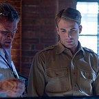 فیلم سینمایی کاپیتان آمریکا: نخستین انتقام جو با حضور جو جانستون و کریس ایوانز