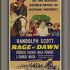 فیلم سینمایی Rage at Dawn با حضور Mala Powers، Forrest Tucker، Randolph Scott و Edgar Buchanan