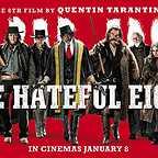 فیلم سینمایی هشت نفرت انگیز با حضور والتون گوگینس، ساموئل ال. جکسون، مایکل مدسن، کرت راسل، بروس درن، دمیان بیچیر، تیم راث و جنیفر جیسن لی