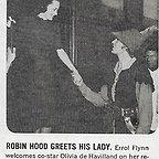فیلم سینمایی ماجراهای رابین هود با حضور Errol Flynn و Olivia de Havilland