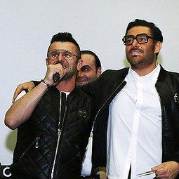 اکران مردمی «ساخت ایران ۲» با حضور محمدرضا گلزار و امین حیایی