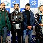 تصویری از میلاد یزدانی، بازیگر سینما و تلویزیون در حال بازیگری سر صحنه یکی از آثارش