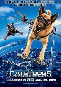 گربه ها و سگ ها علیه کیتی گالور