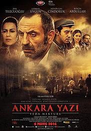 Ankara Yazi Veda Mektubu