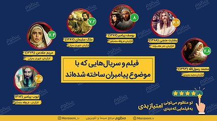 فیلم و سریالهای ایرانی که درباره انبیاء ساخته شدهاند