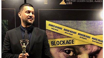 حامد بهداد بهترین بازیگر مرد گلدن گلوبال مالزی شد