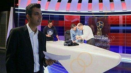 بازی ایران و اسپانیا 300 میلیارد برای تلویزیون سود داشته است/ جوراب های بامزه رامبد جوان سوژه روزنامه بانی فیلم