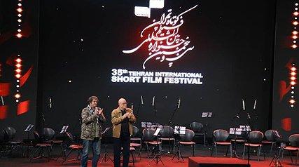 تقدیر از برگزیدگان در اختتامیه جشنواره بینالمللی فیلم کوتاه تهران