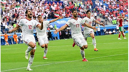 پست های تبریک هنرمندان به مناسبت برد افتخارآفرین تیم ملی فوتبال