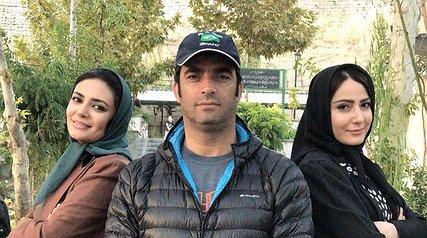 مهدی طارمی همبازی سحر قریشی شد/ مهران مدیری و علی صادقی در جشن تولد فاطمه گودرزی