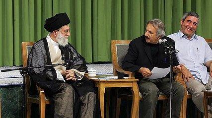 رهبر انقلاب اسلامی با جمعی از سینماگران دیدار کردند