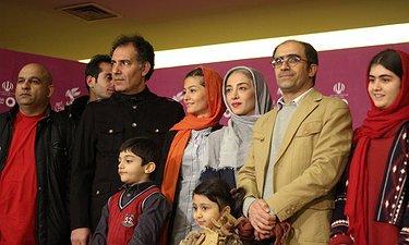 اکران افتتاحیه «لاک قرمز» در ایوان شمس