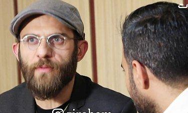 گپی با بابک حمیدیان و همسرش مینا ساداتی