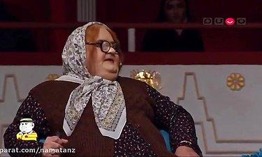 بازی فوق العاده اکبر عبدی در نقش یک پیرزن