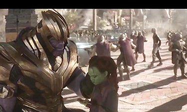 صحنه های حذف شده فیلم «انتقامجویان: جنگ ابدیت»