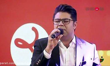 اجرای زنده آهنگ مهدخت حجت اشرف زاده در خندوانه