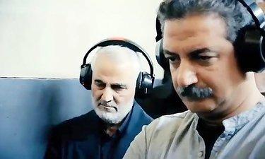 آغاز فیلمبرداری فیلم سینمایی «23 نفر» با حضور حاج قاسم سلیمانی