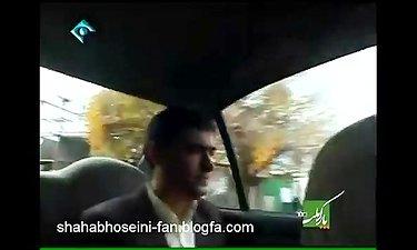 شهاب حسینی در پشت صحنه سریال شوق پرواز