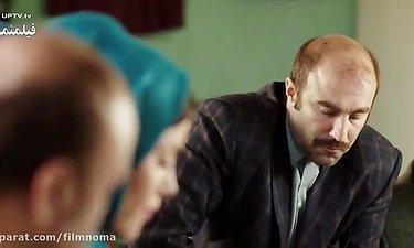 آشتی دادن رضا عطاران با زنش- سکانس خنده دار فیلم گینس