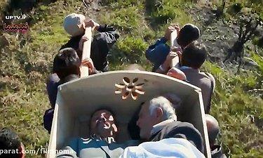 دو مرده داخل یک تابوت - سکانس خنده داری از فیلم ناردون