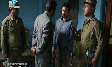 سریال گذر از رنج ها - سکانسی از حضور سید رسول برسان