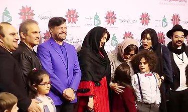 ویدئویی از مراسم افتتاحیه و اکران مردمی پرشور سریال هشتگ خاله سوسکه