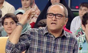 سوال بازی جنابخان، رامبد جوان و محمدرضا شریفی نیا