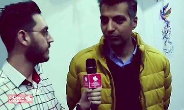 گفتگو با عادل فردوسی پور که برای تماشای دو فیلم متری شیش و نیم و سرخپوست