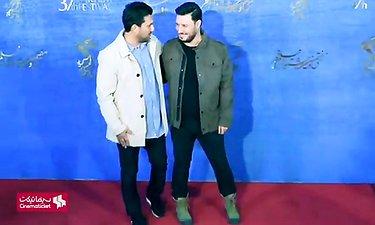 """جواد عزتی و حامد بهداد در مراسم فوتوکال و نشست رسانه ای فیلم """"جان دار"""""""