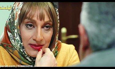 عشوه های ارژنگ امیرفضلی در نقش زن - فیلم لازانیا