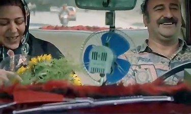 قیافه جواد عزتی وقتی مادرشو بلند میکنن - سکانس برتر فیلم هزارپا