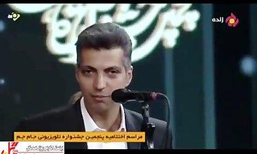 """صحبتهای توام با بغض""""عادل فردوسیپور""""پس از دو جایزهای که از جشنواره جامجم گرفت"""