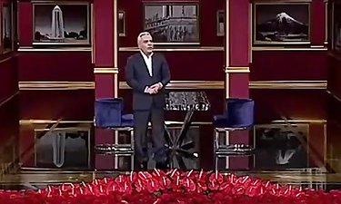 """انتقادات تند مهران مدیری در ویژه برنامه سیزده به در """"دور همی"""""""