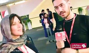 """صحبت های مهتاب کرامتی درباره فیلم """"واکَس چه"""" ساخته کامران حیدری"""